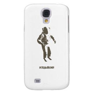 Grafische Astronauten-Schablone Galaxy S4 Hülle