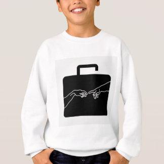 Grafische darstellende Motivation und Sicherheit Sweatshirt