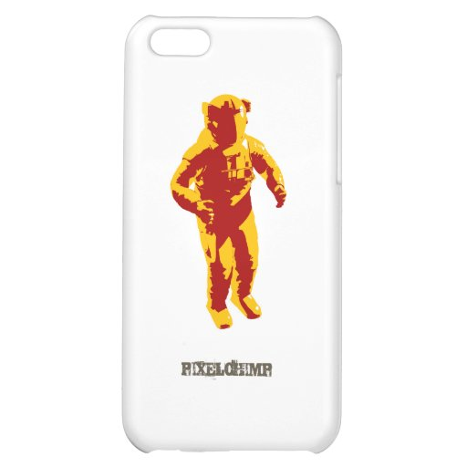 Grafischer Astronaut iPhone 5C Cover
