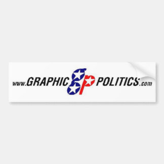 Grafischer Politik-Autoaufkleber Autoaufkleber