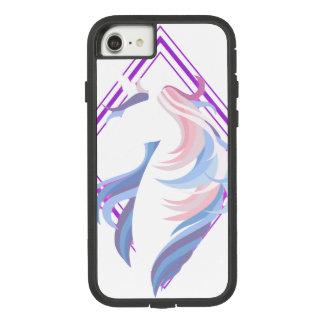 grafisches cooles schönes des Unicornentwurfs Case-Mate Tough Extreme iPhone 8/7 Hülle