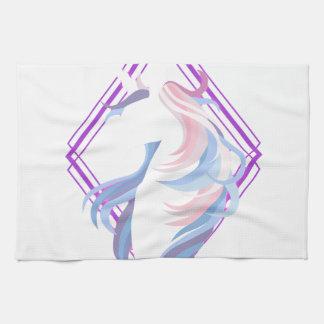 grafisches cooles schönes des Unicornentwurfs Handtuch