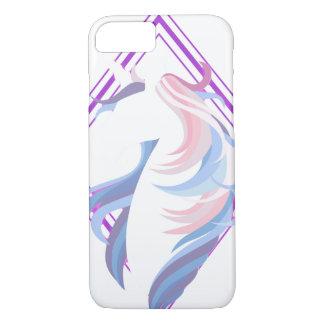 grafisches cooles schönes des Unicornentwurfs iPhone 8/7 Hülle
