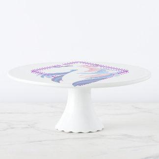 grafisches cooles schönes des Unicornentwurfs Tortenplatte
