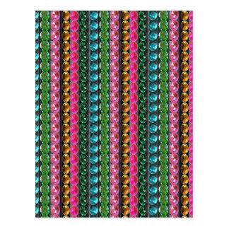 Grafisches dekoratives Muster-GIF der SCHEIN Postkarte