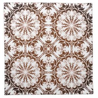 Grafisches Muster Stoffserviette