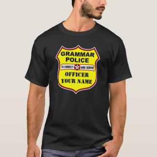 Grammatik-Polizei-Dunkelheits-T-Stück T-Shirt