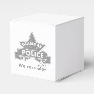 Grammatik-Polizei Geschenkschachtel
