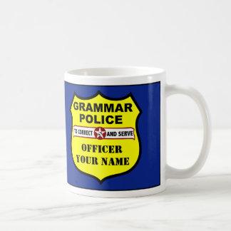 Grammatik-Polizei-kundengerechte Tasse