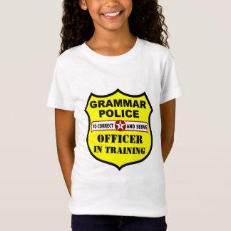 Grammatik-Polizei-kundengerechtes Kindert-stück T-Shirt