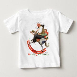 Gramps auf Schaukelpferd Baby T-shirt