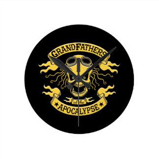 Gramps der Apokalypse Runde Wanduhr