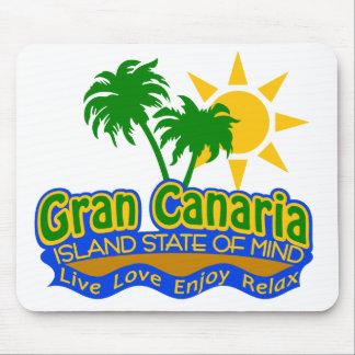 Gran Canaria Staat von Verstandmousepad Mousepad