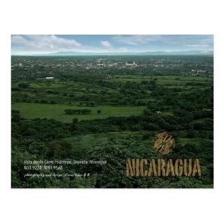Granada desde Cerro Posintepe Postkarte