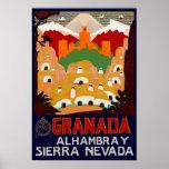 Granada Spanien Posterdruck