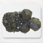 Granat in der natürlichen Form Mauspads
