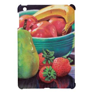 Granatapfel-Bananen-Beeren-Birnen-Reflexion iPad Mini Hülle
