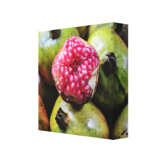 Granatapfel Foto Leinwanddruck