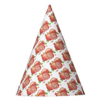 Granatapfel glückliches Yalda Partyhütchen