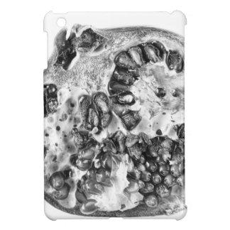 Granatapfel in Schwarzweiss iPad Mini Hülle