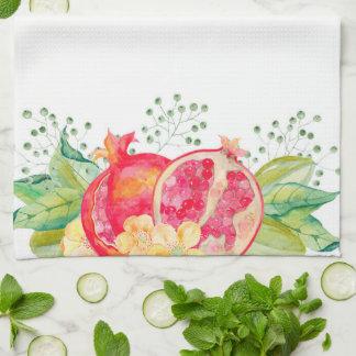 Granatäpfel Küchentuch