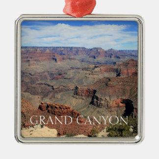 Grand Canyon 5 Silbernes Ornament