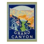 Grand Canyon - Vintage Reise Postkarten