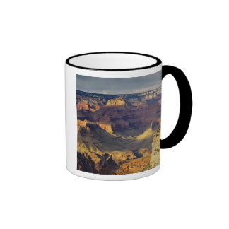 Grand Canyon von der Südkante am Sonnenuntergang, Ringer Tasse