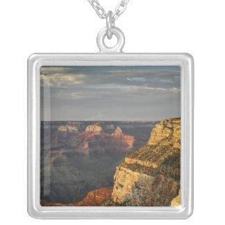 Grand Canyon von der Südkante an Sonnenuntergang, Versilberte Kette