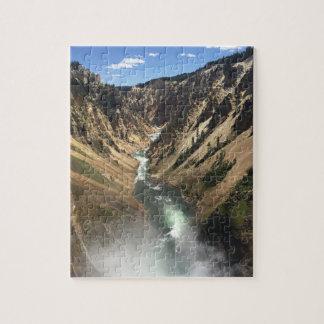 Grand Canyon von Yellowstone-Park Puzzle