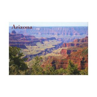Grand- Canyonarizona-LandschaftsFoto mit Text Leinwanddruck
