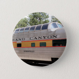 Grand Canyonbahnwagen, Arizona Runder Button 5,1 Cm