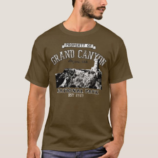 Grand- Canyoneigentum von T-Shirt