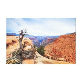 Grand- Canyonkunst Leinwanddruck