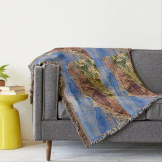 Grand- CanyonlandschaftsWurfs-Decke Decke
