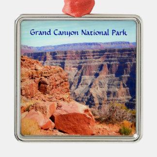 Grand- CanyonNationalpark-Westkante Silbernes Ornament