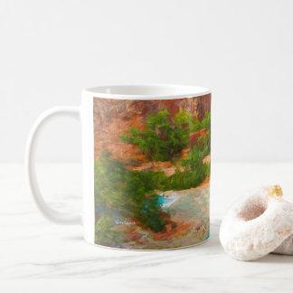 Grand- Canyonwasserfälle Kaffeetasse