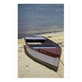 Grand Cayman Boot Postkarte