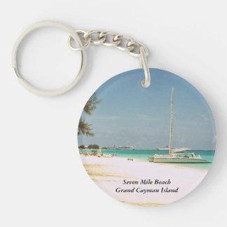 Grand Cayman Insel-Schlüsselkette Schlüsselanhänger