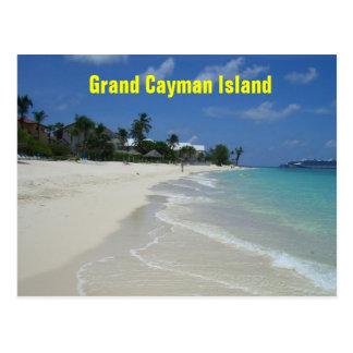 Grand Cayman Inselpostkarte Postkarte