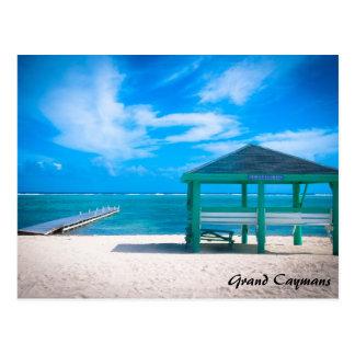 Grand Cayman Ostseite Postkarte