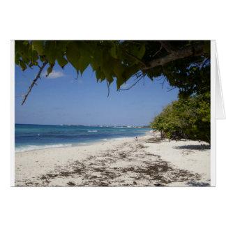 Grand Cayman Strand Karte
