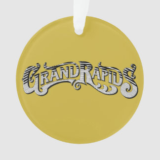 Grand- Rapidsweihnachtsverzierung Ornament