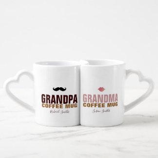 Granddad u. grandmom Liebhaber-Tasse mit ihren Liebestassen