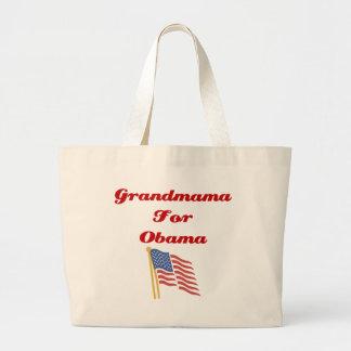 Grandmama für Obama-Taschen-Tasche Jumbo Stoffbeutel
