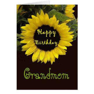 GRANDMOM alles Gute zum Geburtstag mit netter Karte