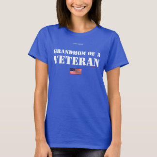 GRANDMOM EINES VETERANS T-Shirt