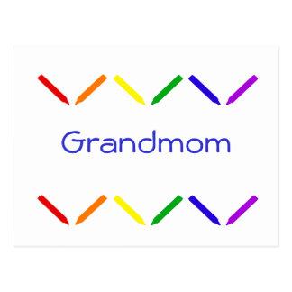 Grandmom Postkarte