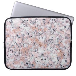 Granitmuster Laptopschutzhülle