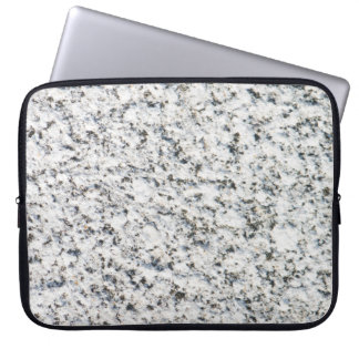 Granitoberflächenmuster Laptopschutzhülle